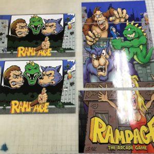 Arcade 1Up Mortal Kombat II Riser Decals Arcade1up Raiden